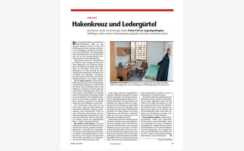 Hakenkreuz Und Ledergürtel Göran Schattauer